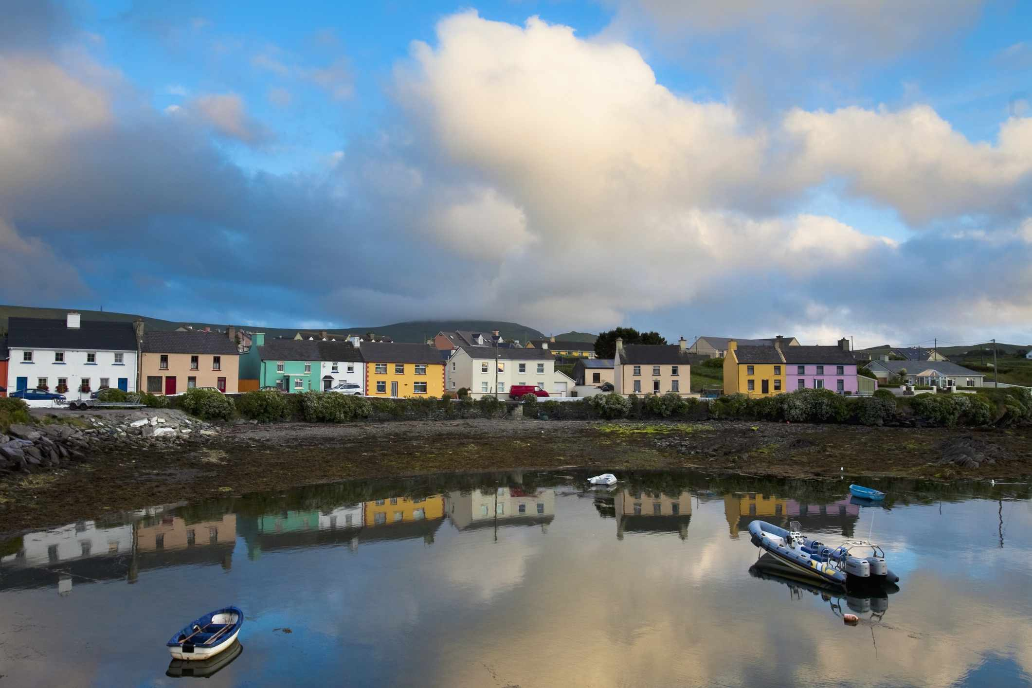 Fishing village of Portmagee along the Ring of Kerry