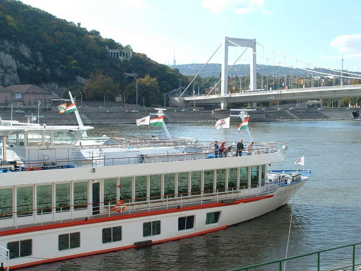 Viking River Cruises' Viking Spirit on the Danube River in Budapest