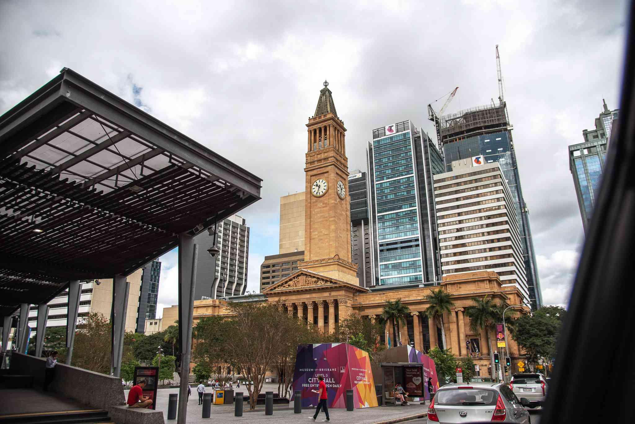 Brisbane clocktower