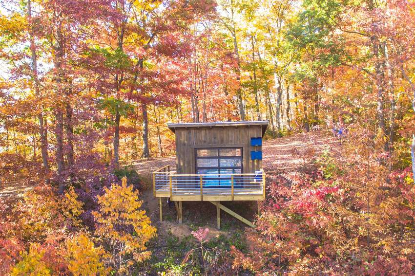 Off-Grid Cabin in the Pisgah Highlands