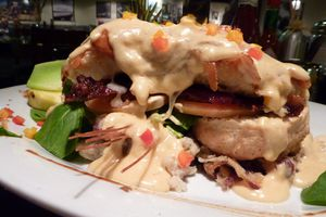 Andy's Sage Fried Chicken Hash House Farm Benedict at Hash House A Go Go at Imperial Palace Las Vegas