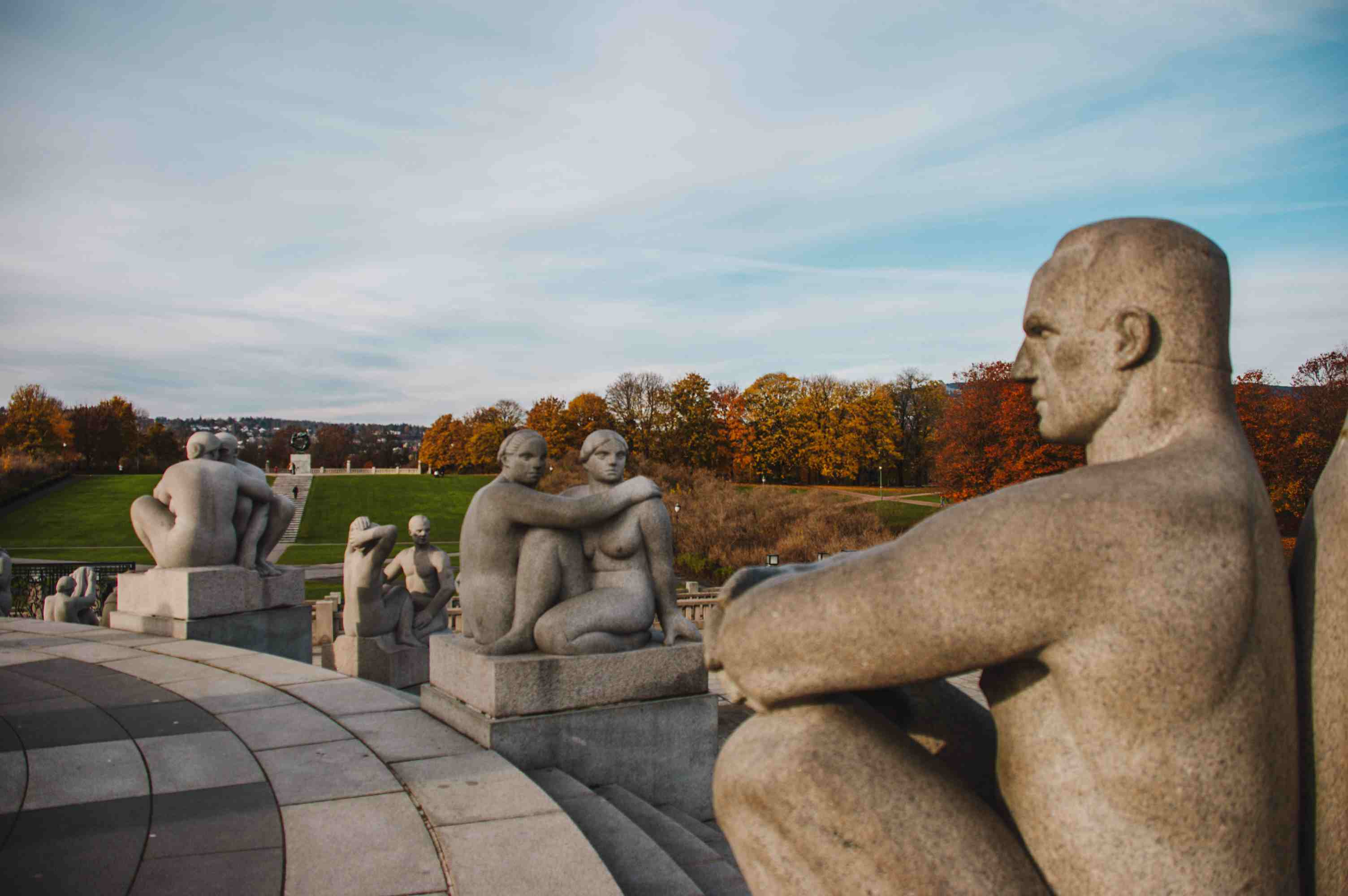 Sculptures in Vigeland Park