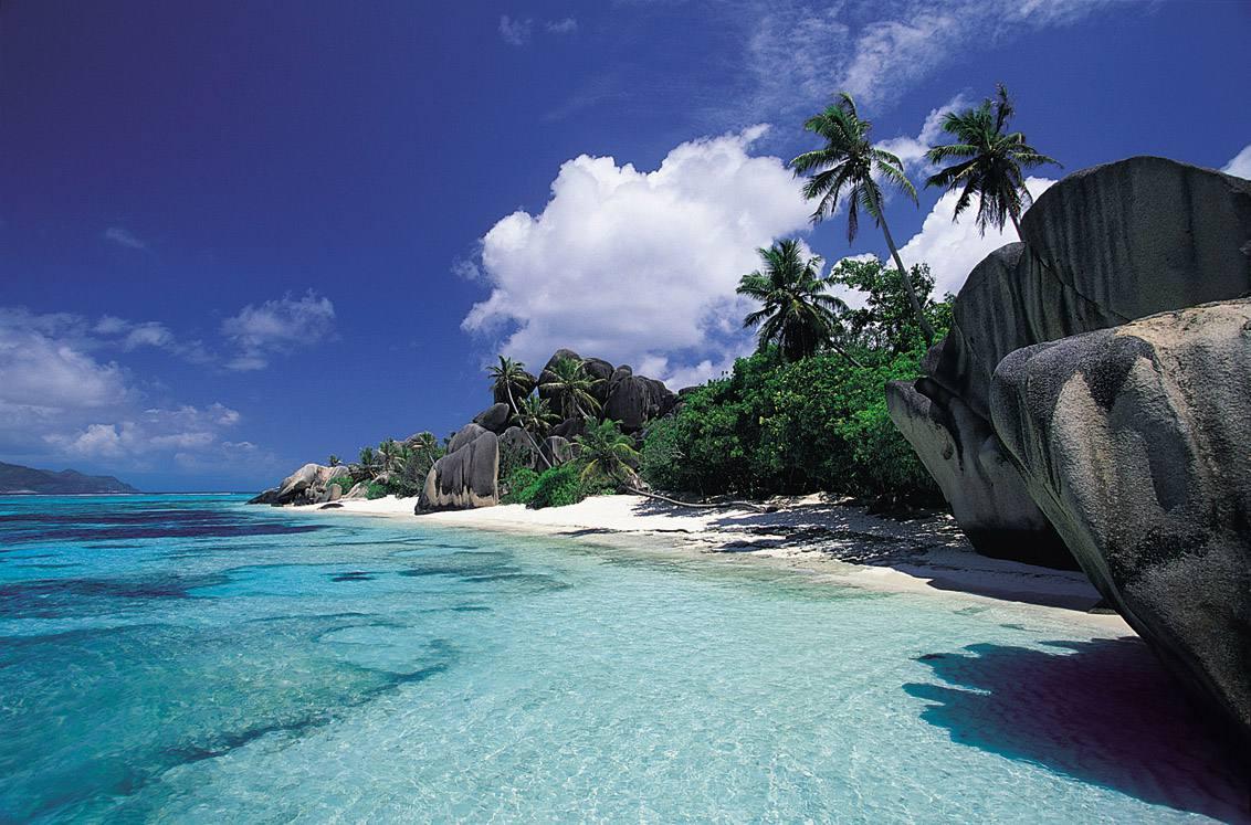 Anse Source D'Argent, La Digue, Seychelles best beach africa