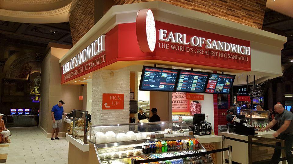 The Sandwich In Las Vegas