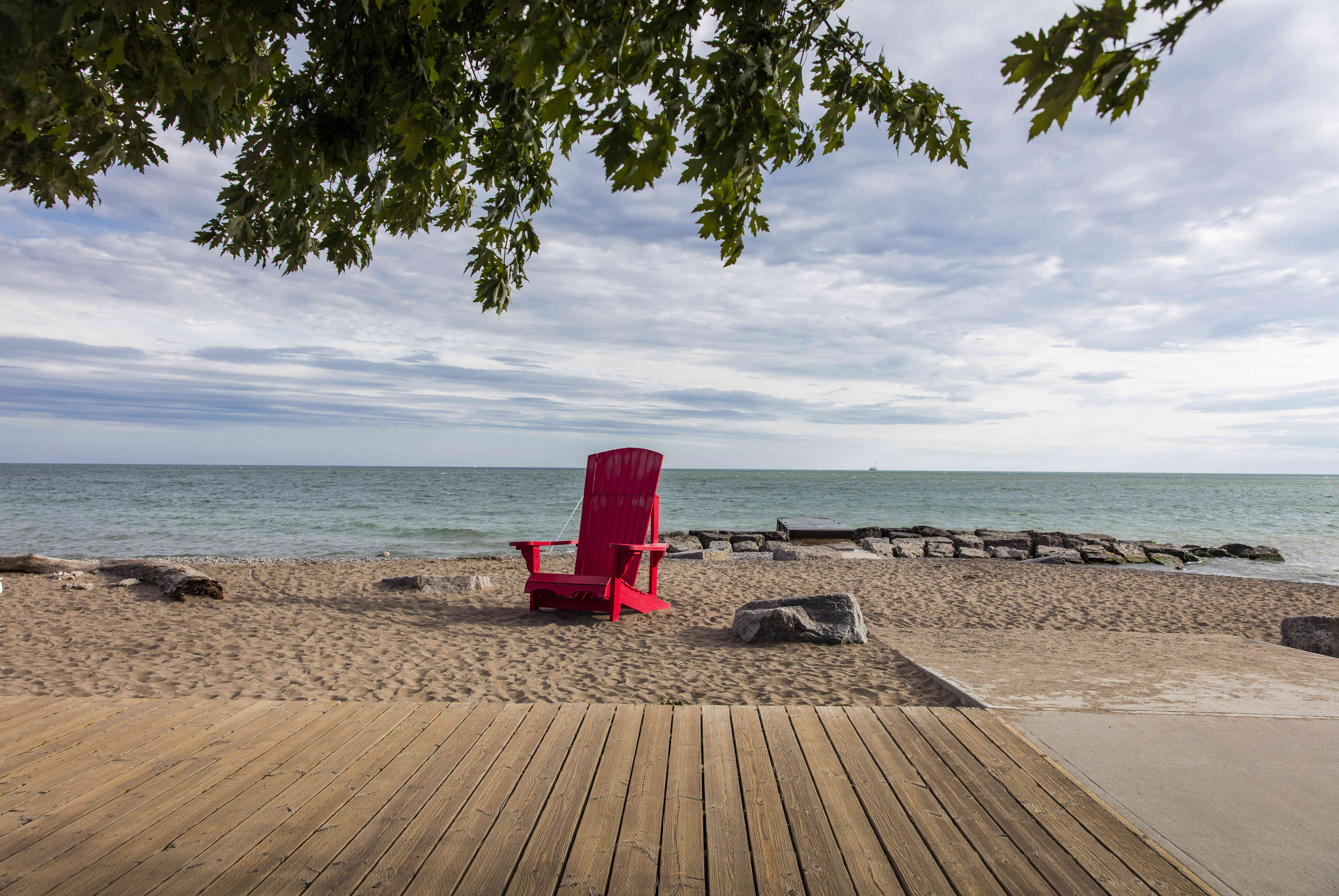 Kew Balmy Beach in Toronto