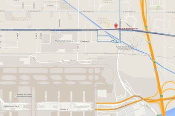 Phoenix Airport (PHX) Map, Address, and Directions