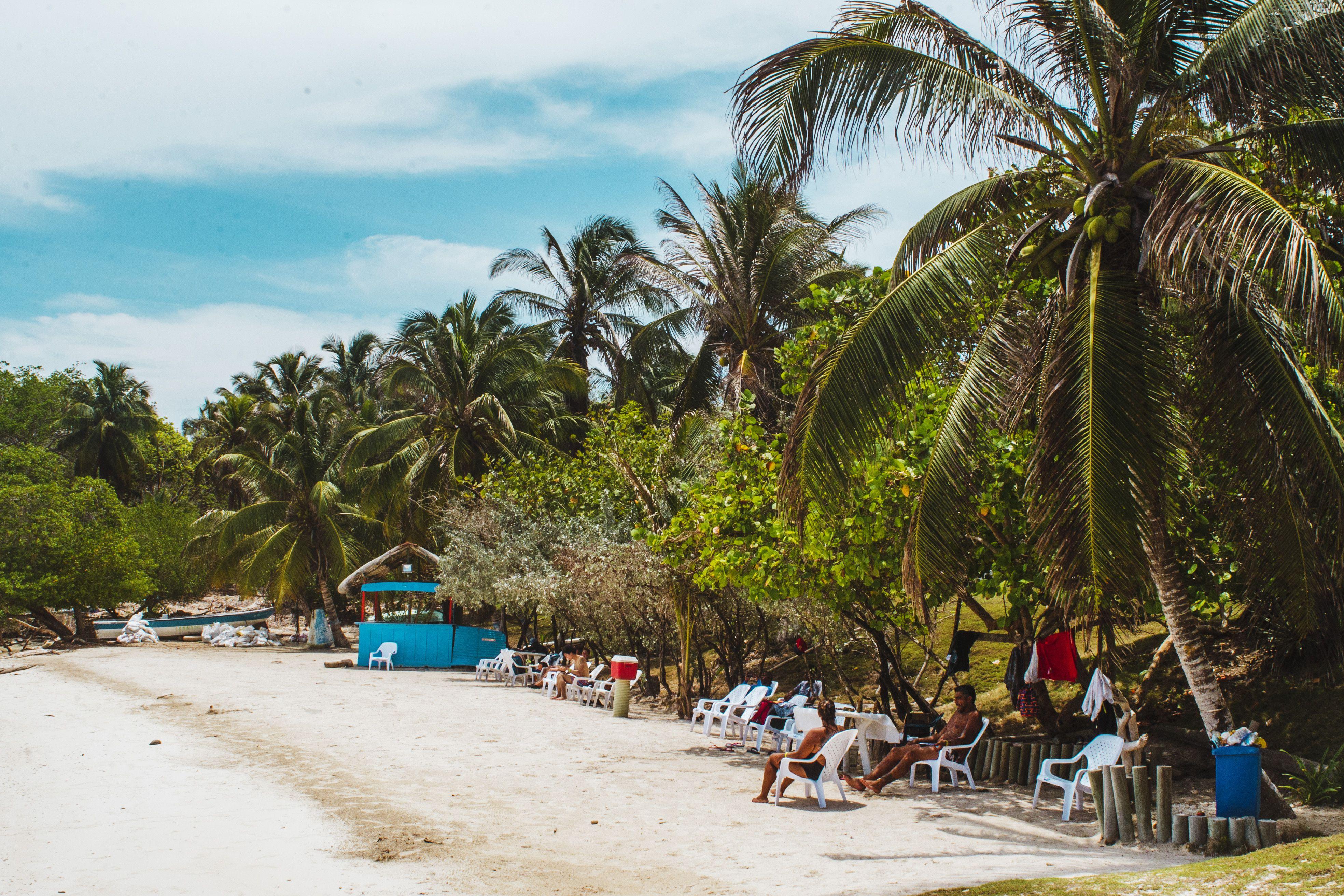 Isla Grande in Rosario Islands