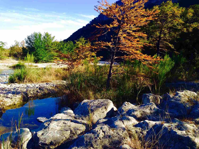 Rio Frio River. Garner State Park Texas