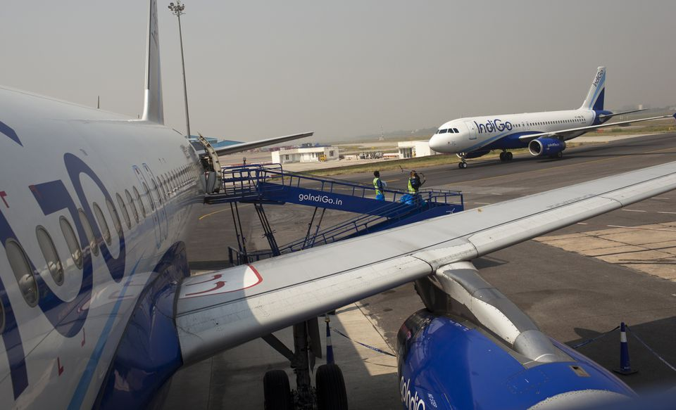 Indigo Airlines at Indira Gandhi International Airport