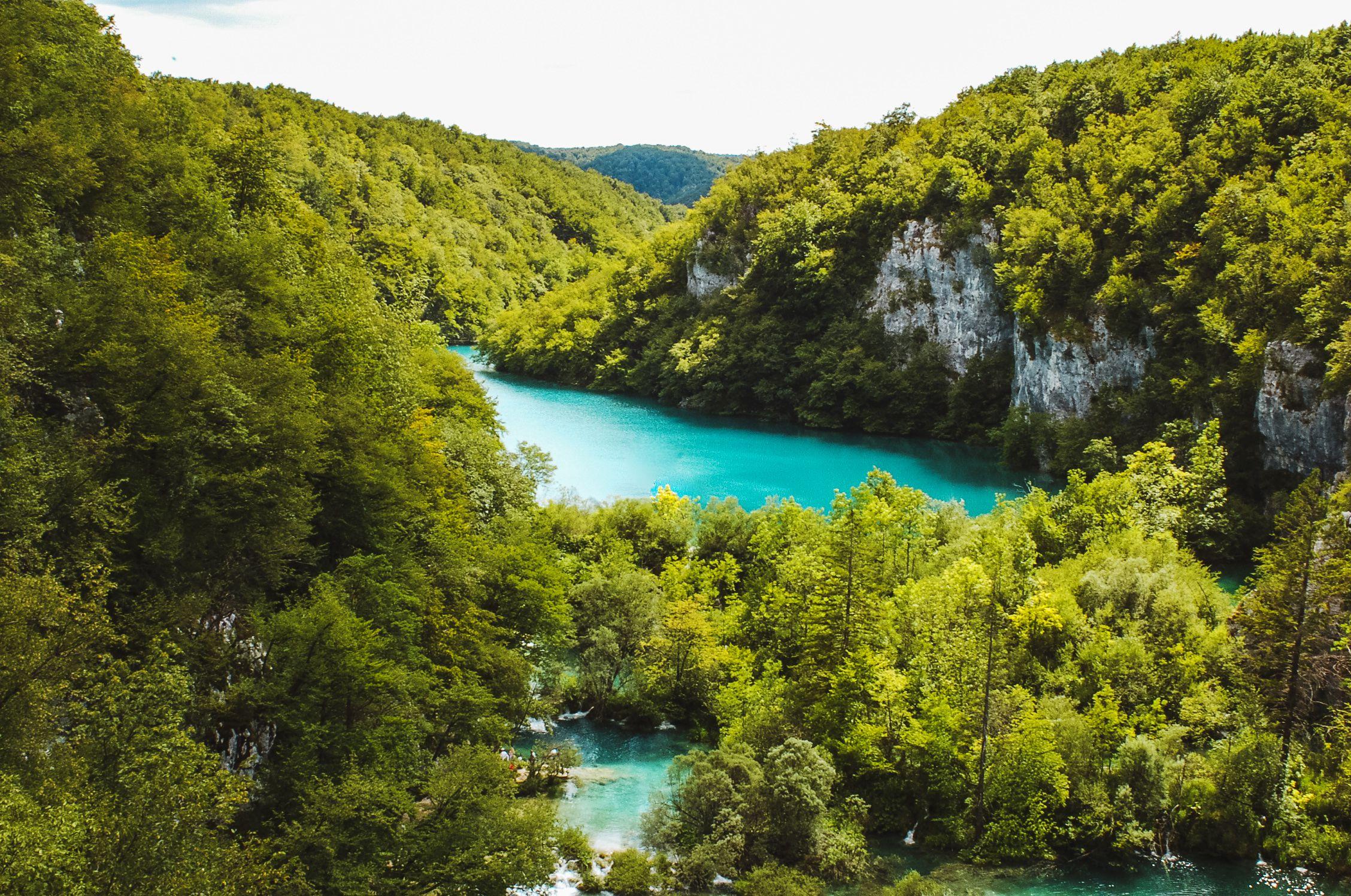 Pltvice National Park in Croatia