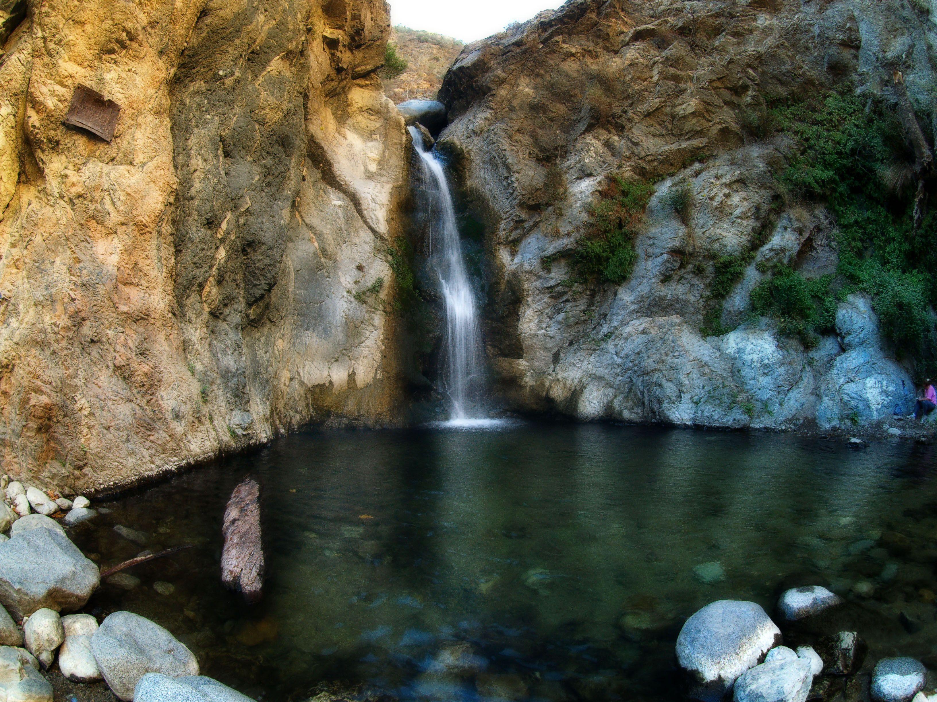 Cascada de Eaton Canyon