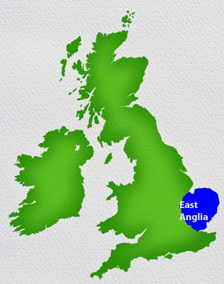 Map Of England East Anglia.A Three To Six Days In East Anglia A Touring Itinerary
