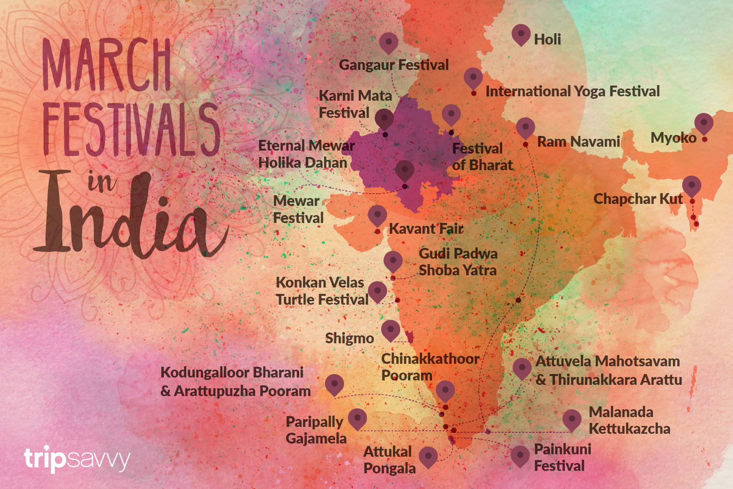 March 2019 India Festivals and Events Guide