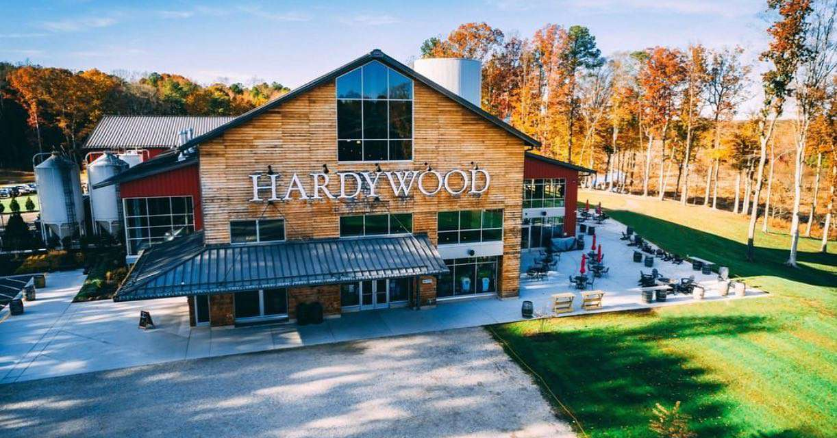 Exterior of Hardywood brewery
