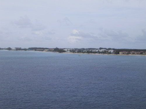 View of Grand Caymand Island from Cruise Ship