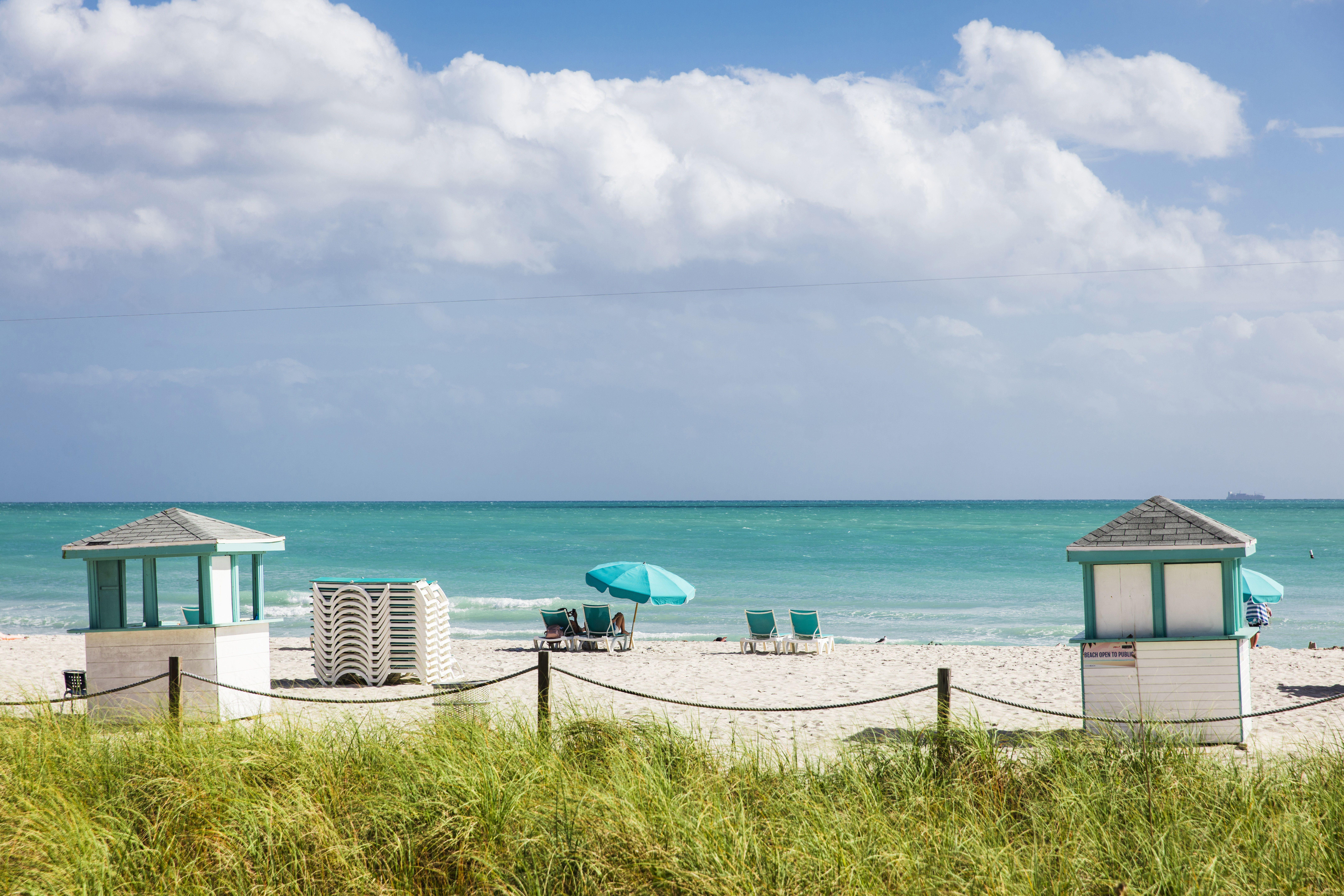Amazing beaches in Miami