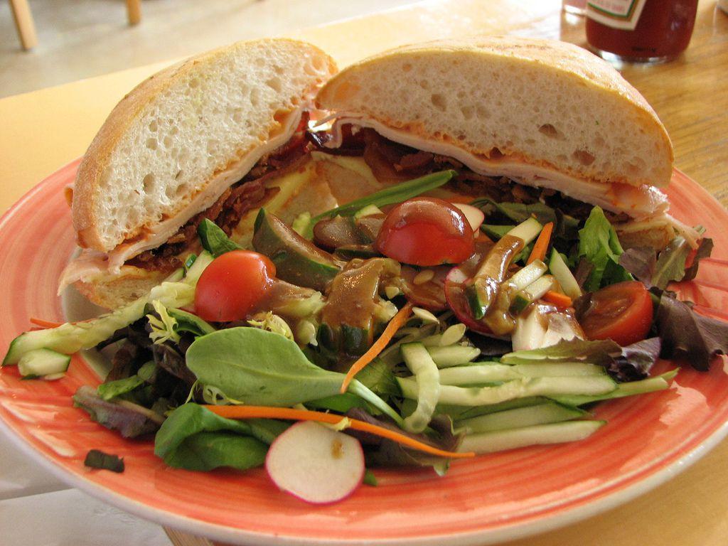 The Bongo Room sandwich
