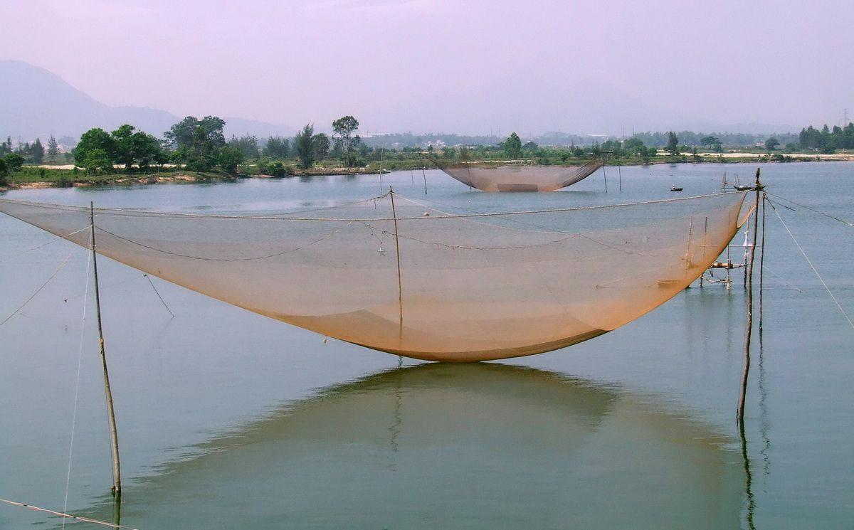 Fishing Nets at Lang Co