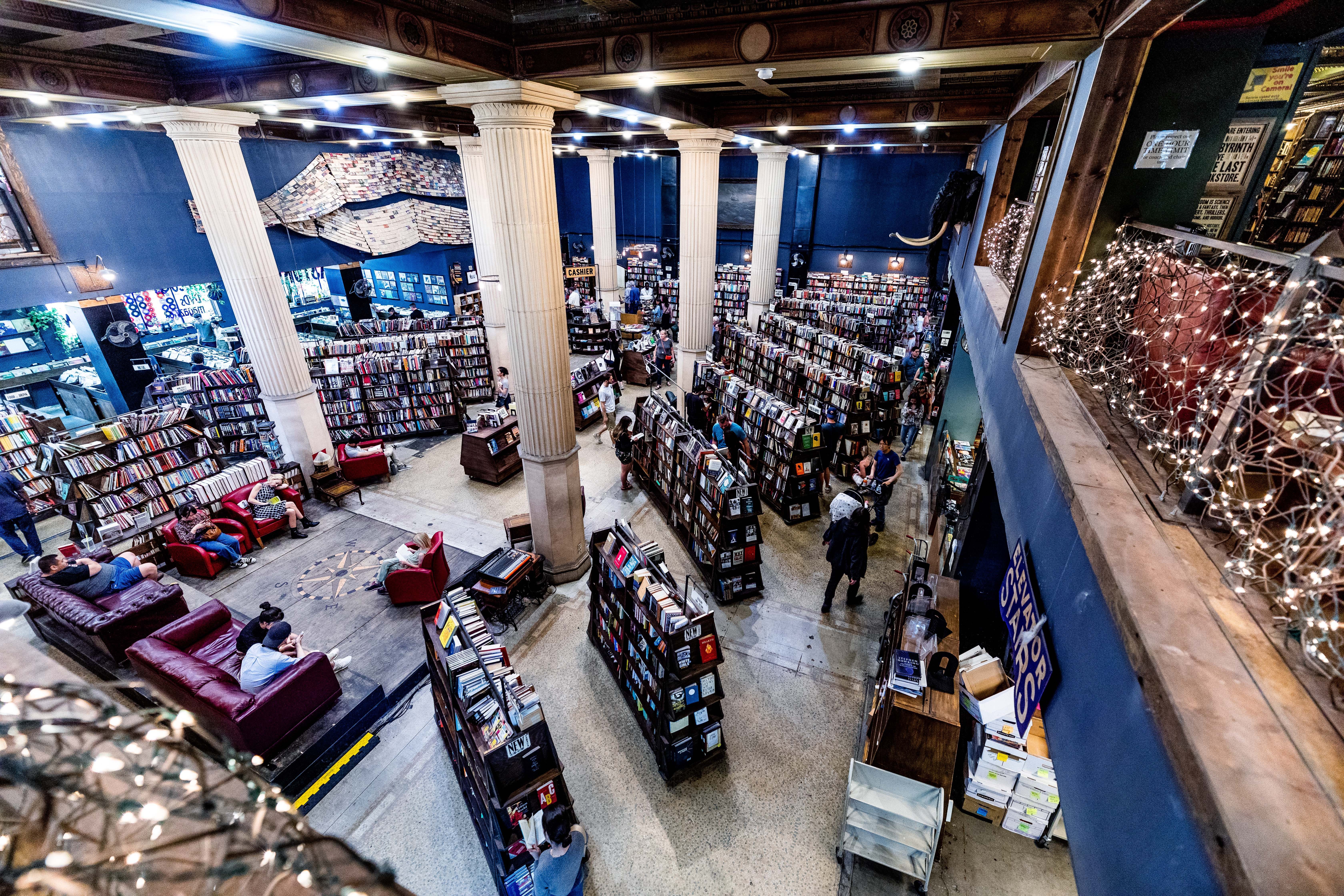 INside the book store