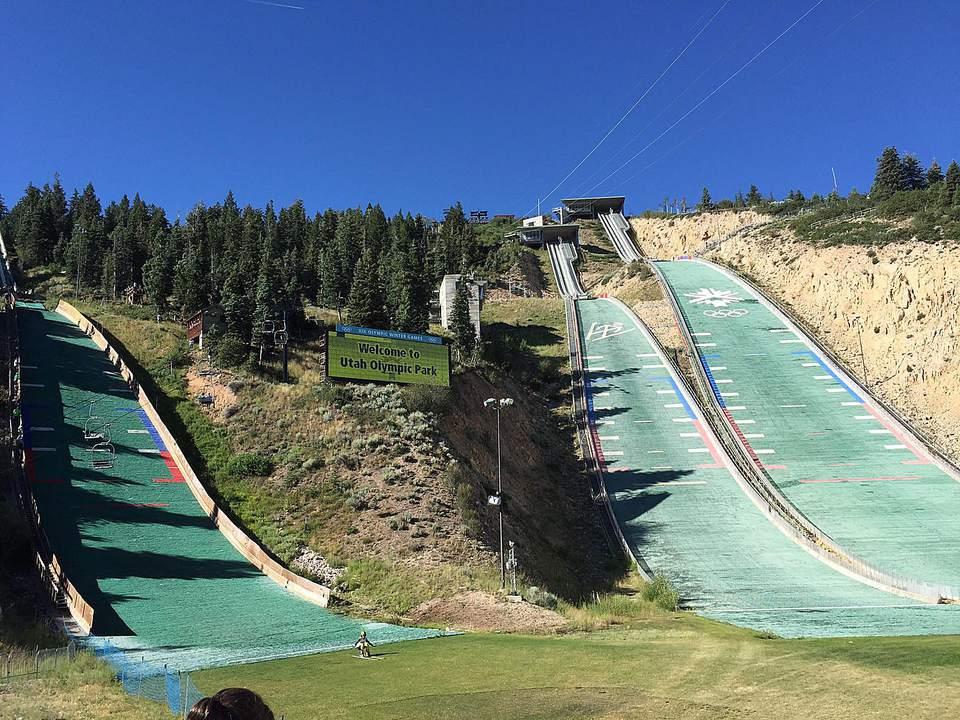 Extreme Zip Line Utah Olympic Park