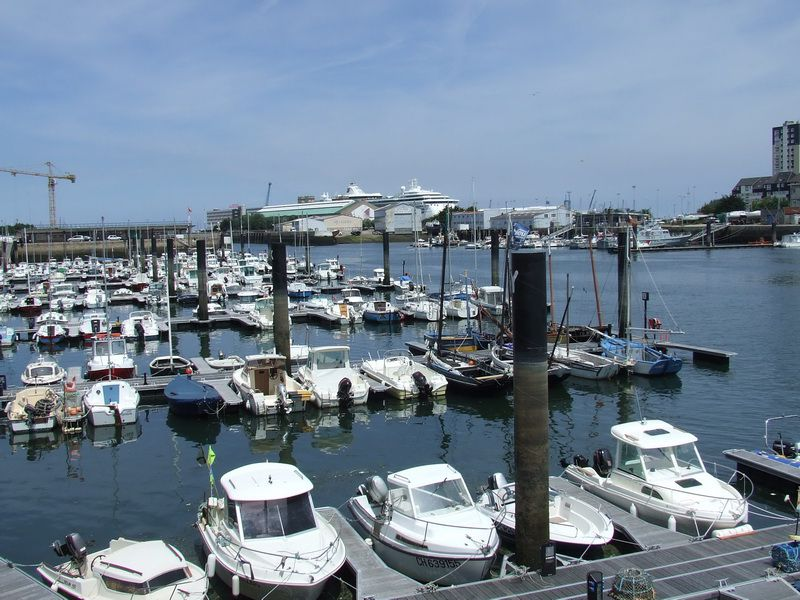 Cherbourg Yacht Basin and Harbor