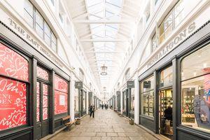 London shopping mall
