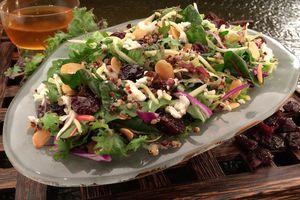 Salad served at Epcot