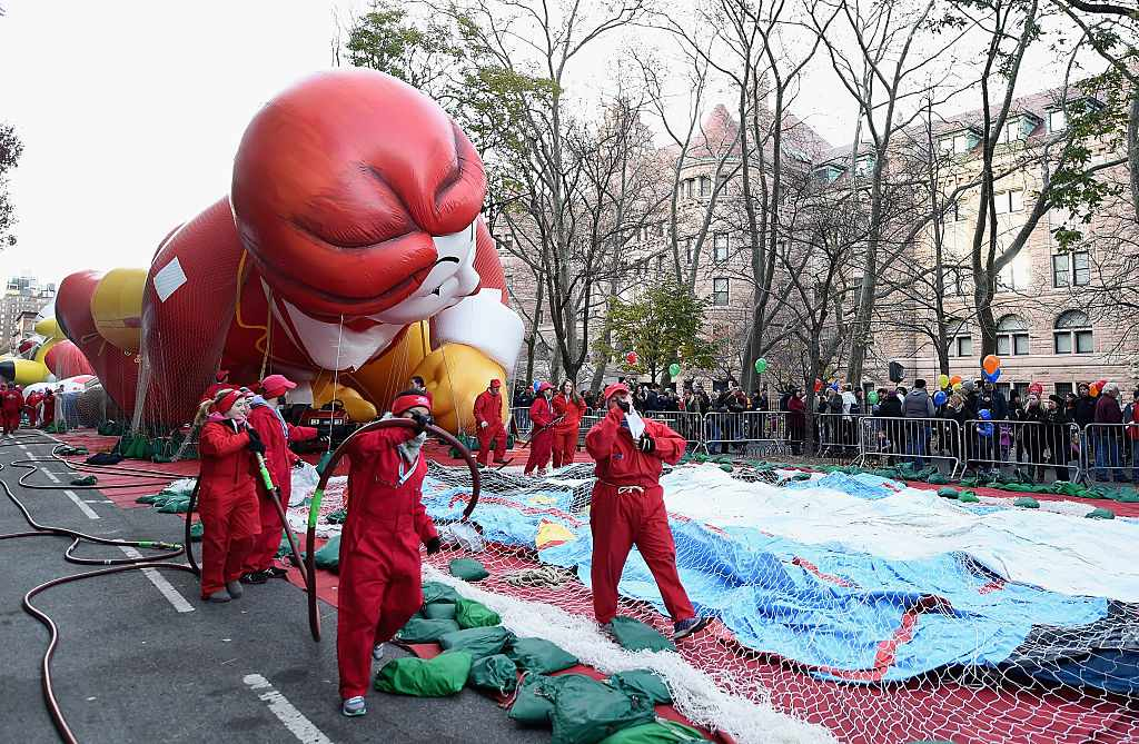 Macy's Thanksgiving Day Parade Inflation Eve