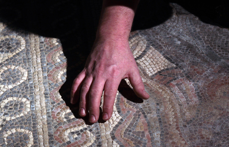 Chedworth Roman Villa Unveils Precious Mosaics