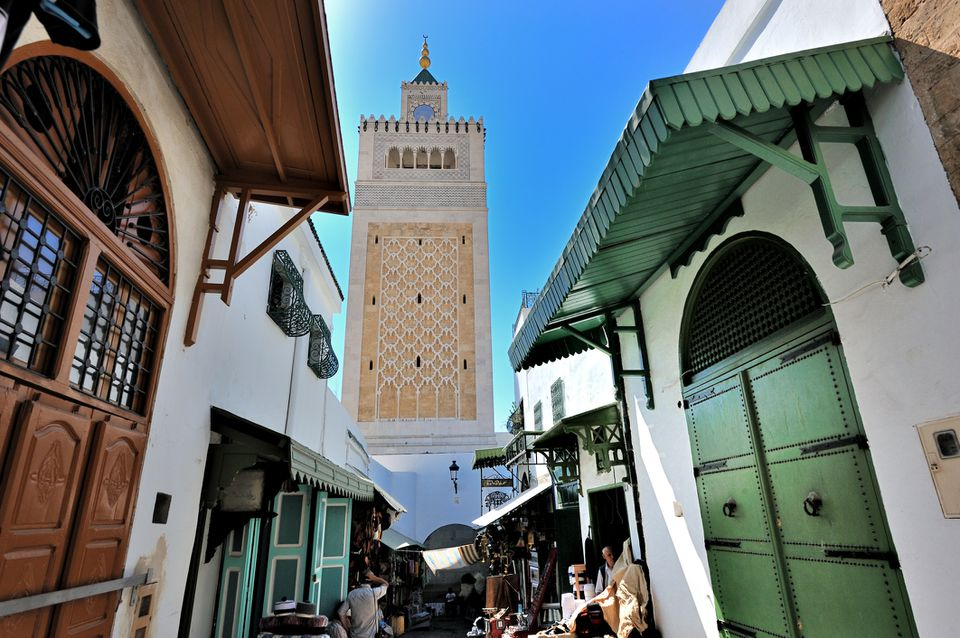 Medina in the historic heart of Tunis