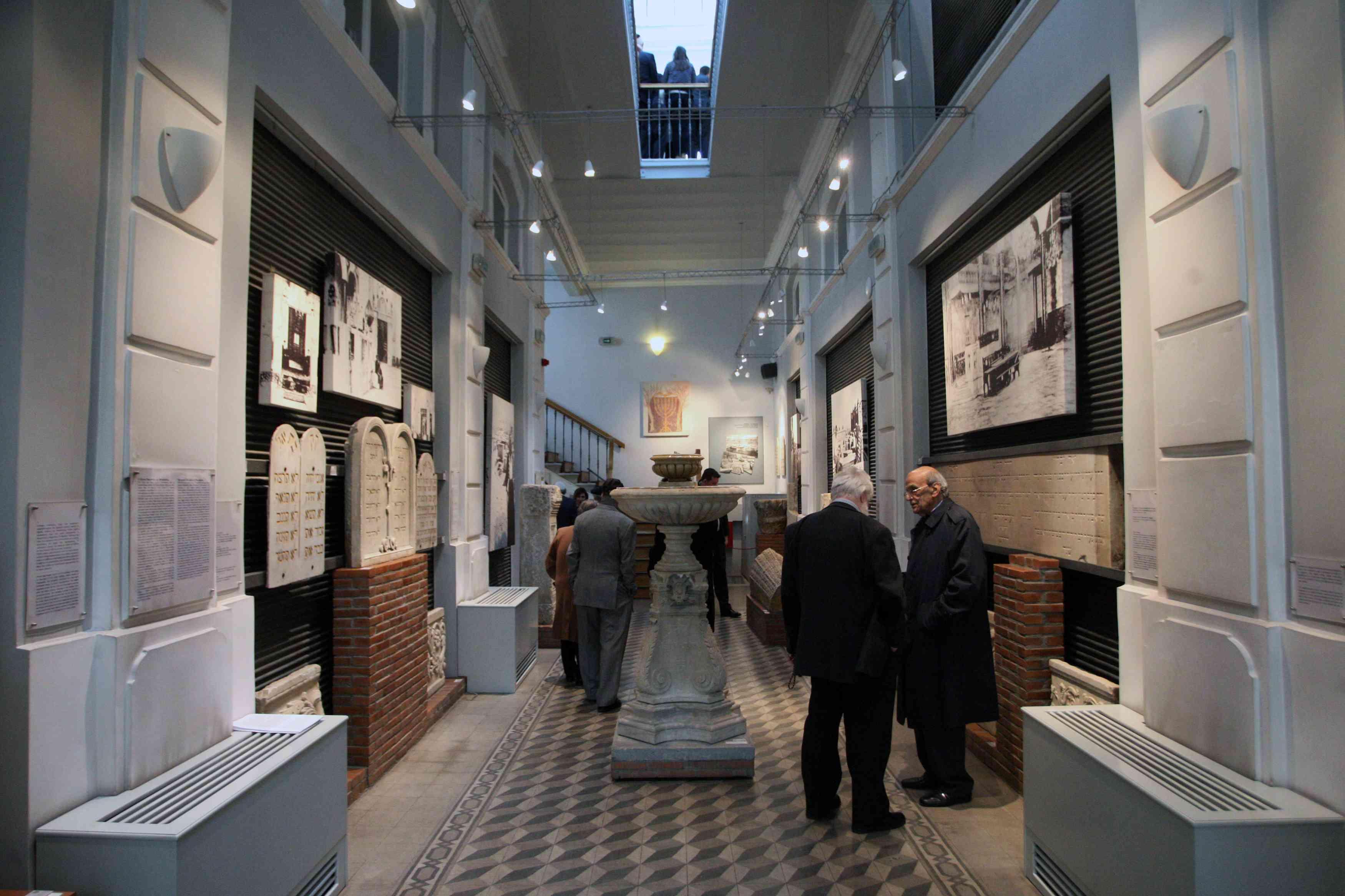 Interior del Museo Judío de Salónica