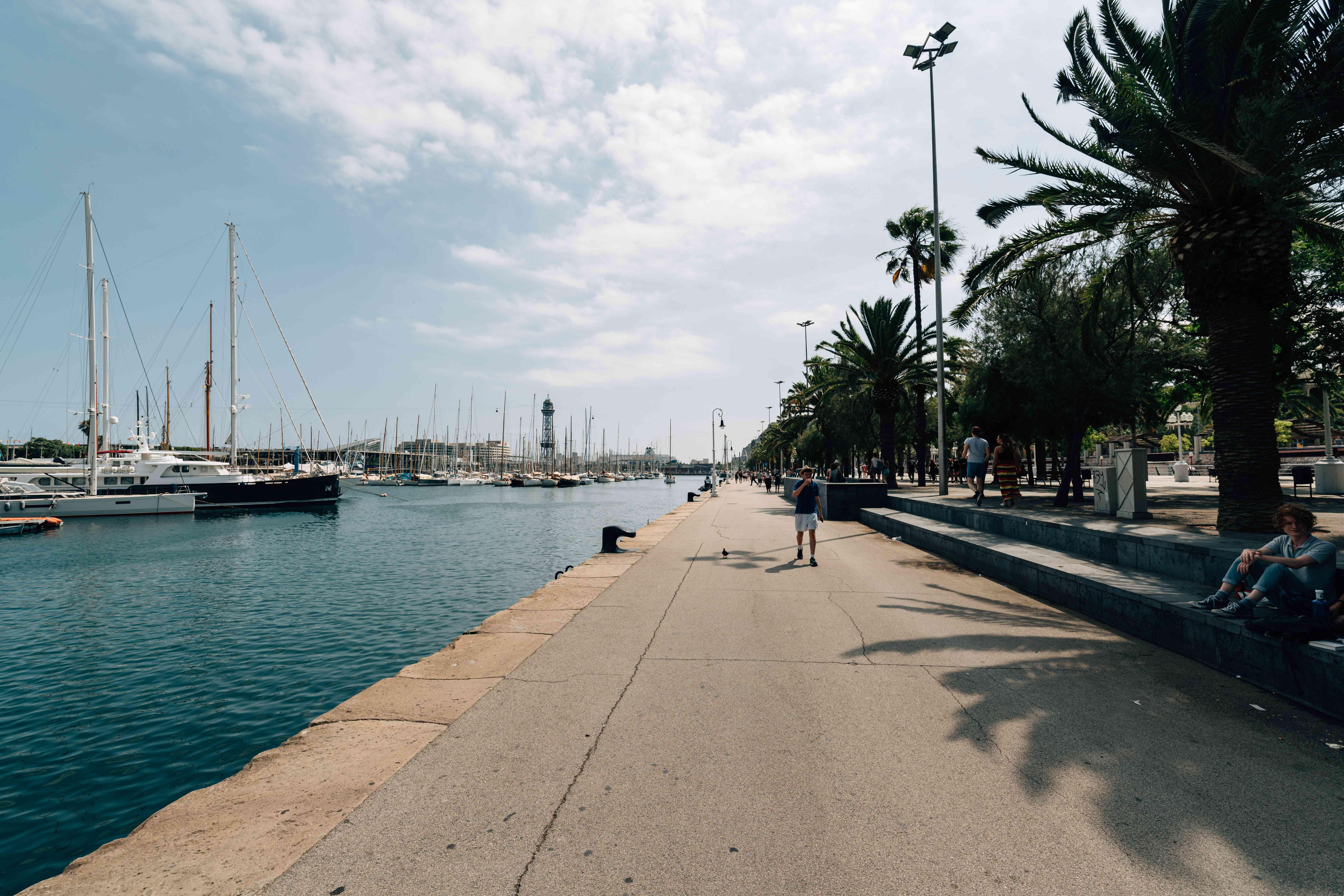 Port Vell in Barceloneta