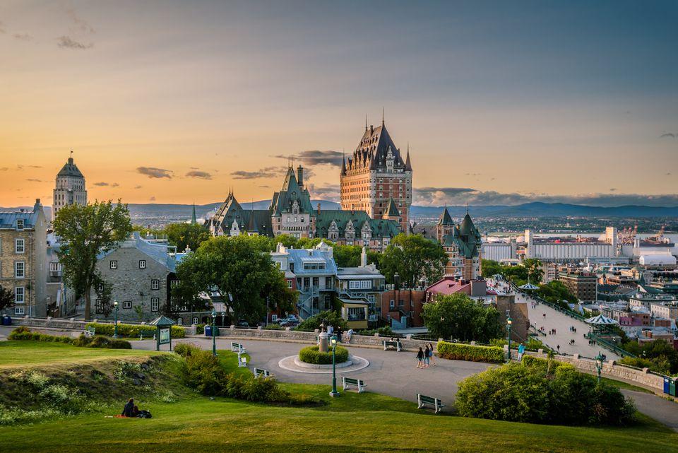 Quebec City skyline, Canada