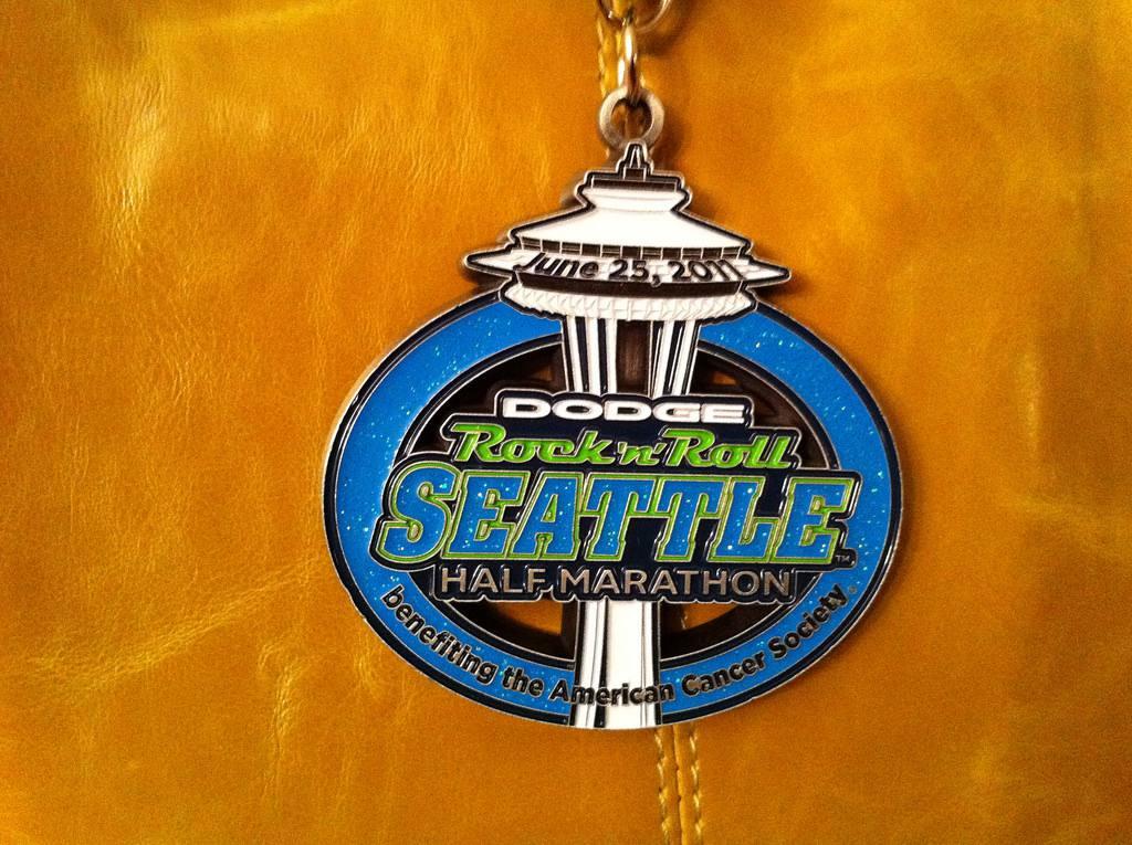 Seattle Rock N Roll Marathon