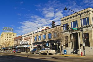 Main Street in Bozeman, Montana, USA