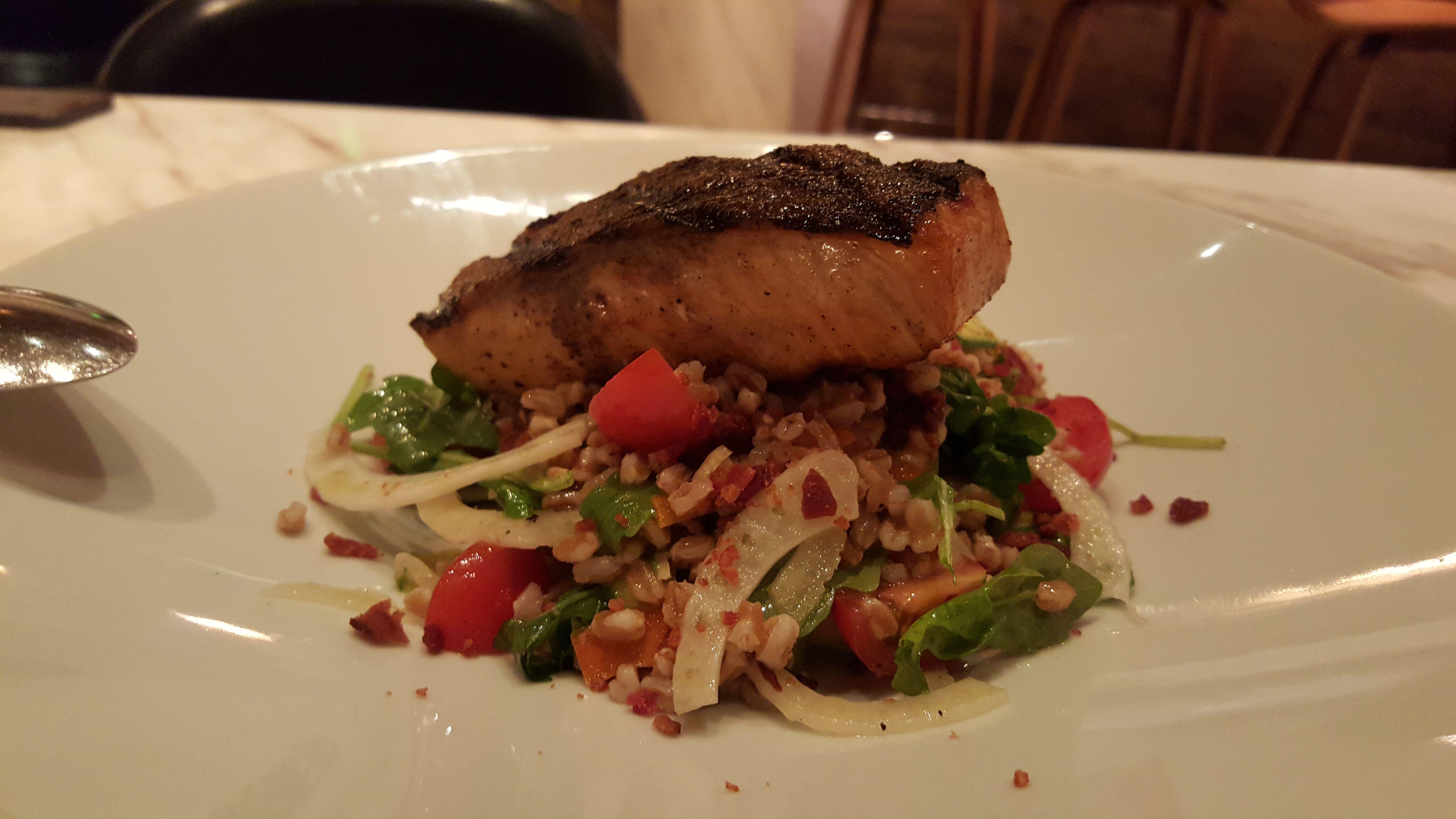 Salmon at D.O.C.G. at Cosmopolitan Las Vegas