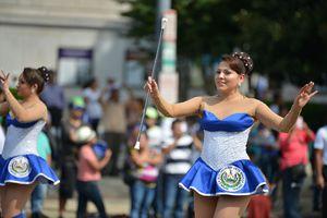 Woman performing dance at Fiesta DC