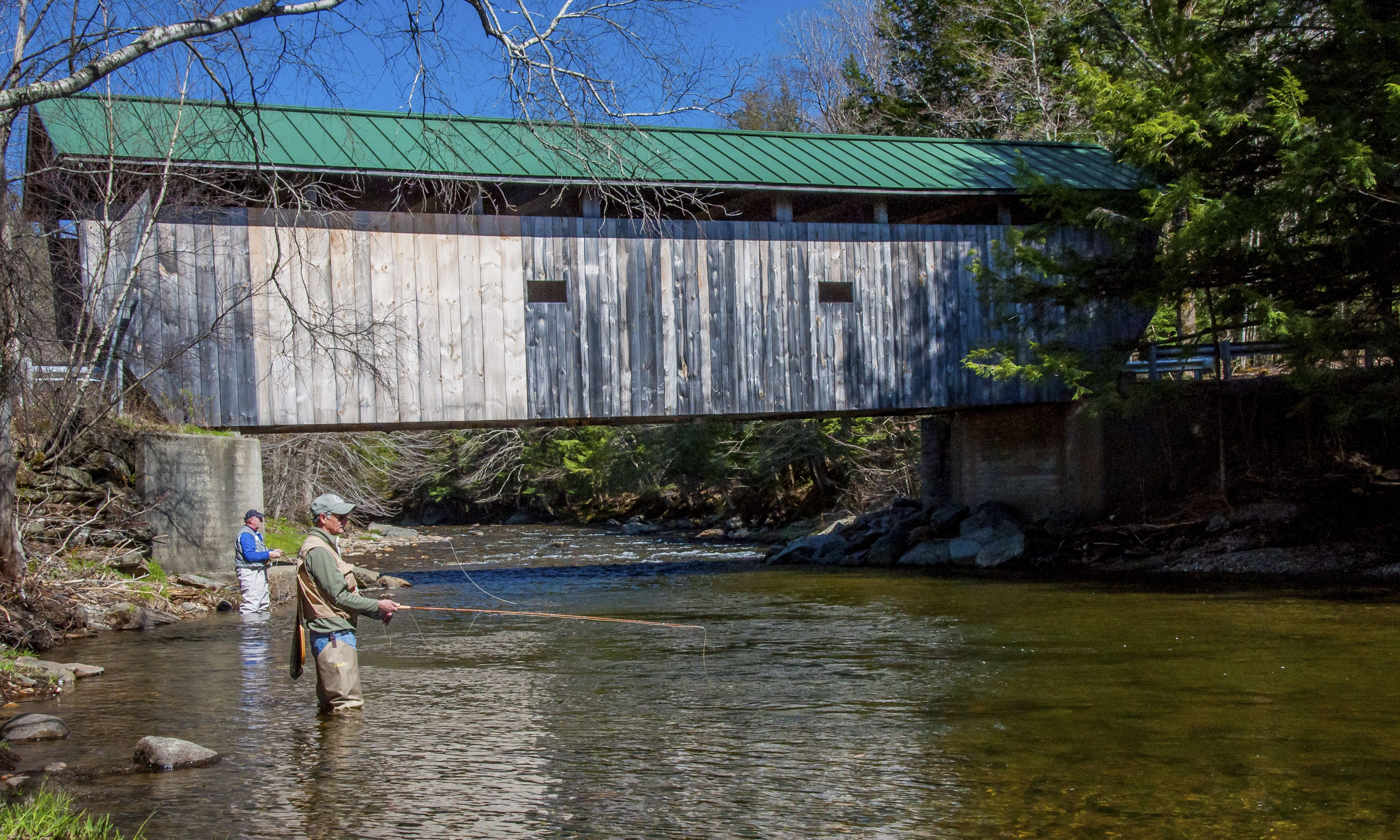 Fly Fishing For Trout In Vermont