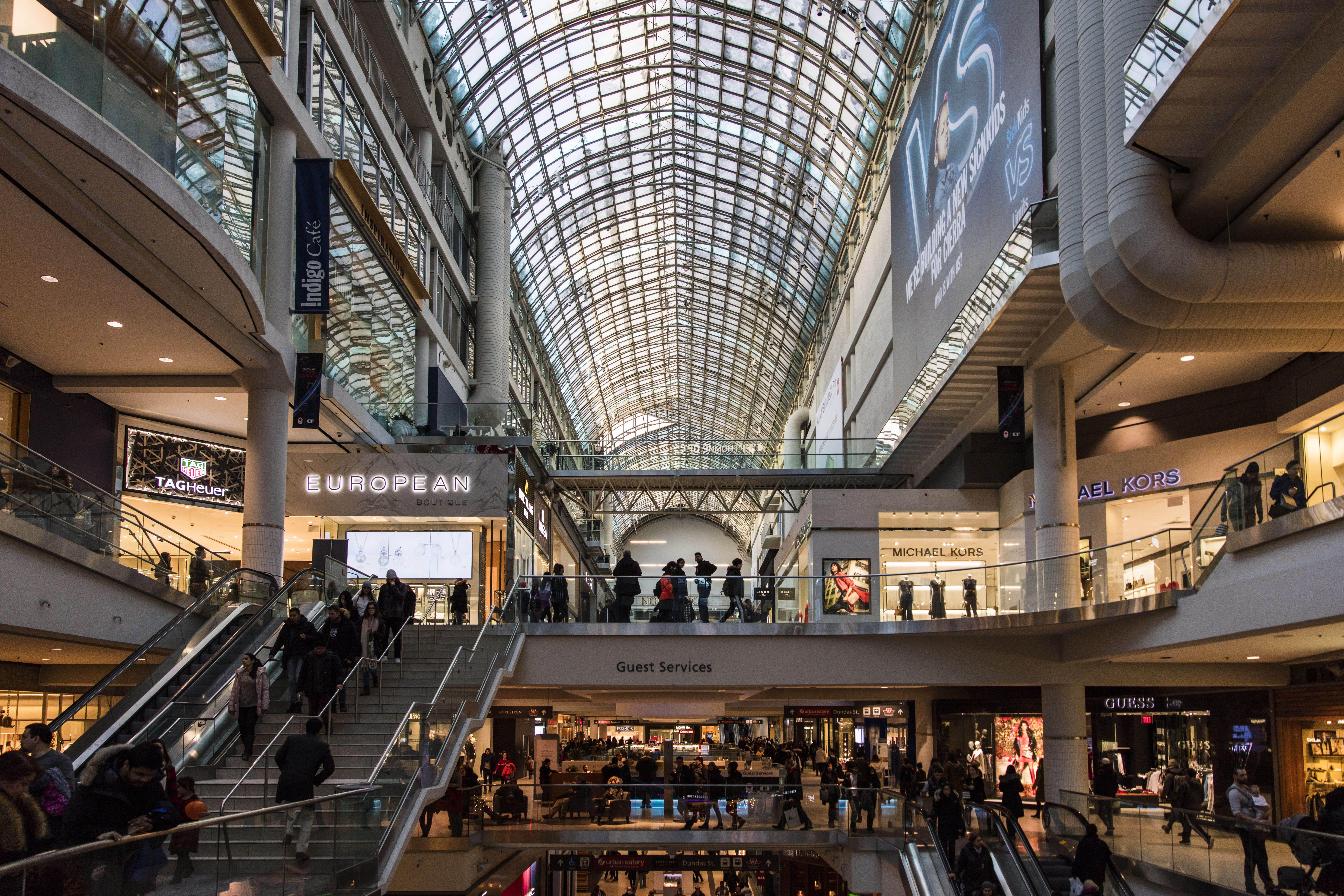 98e9f333cda Toronto Eaton Centre Visitor Information