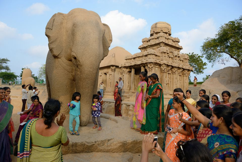 Pancha Rathas en Mahabalipuram