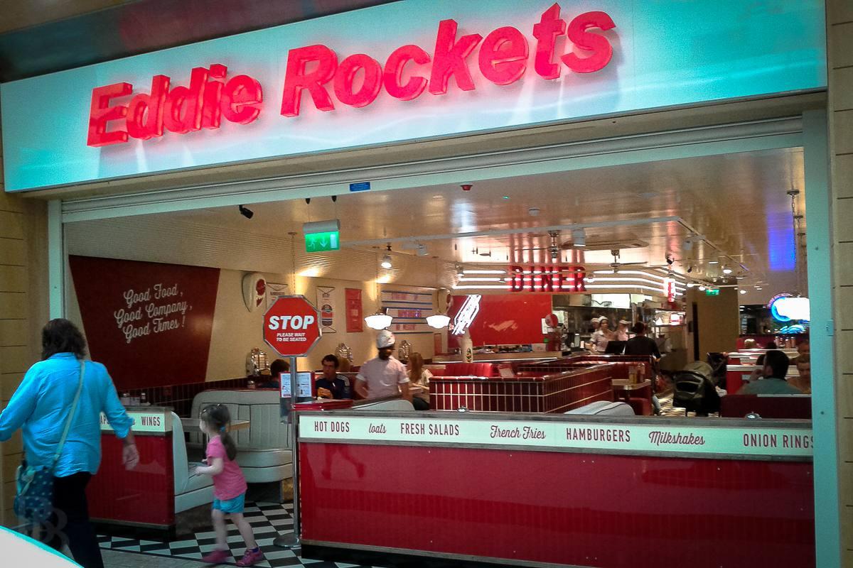 Eddie Rockets en The Quays en Newry