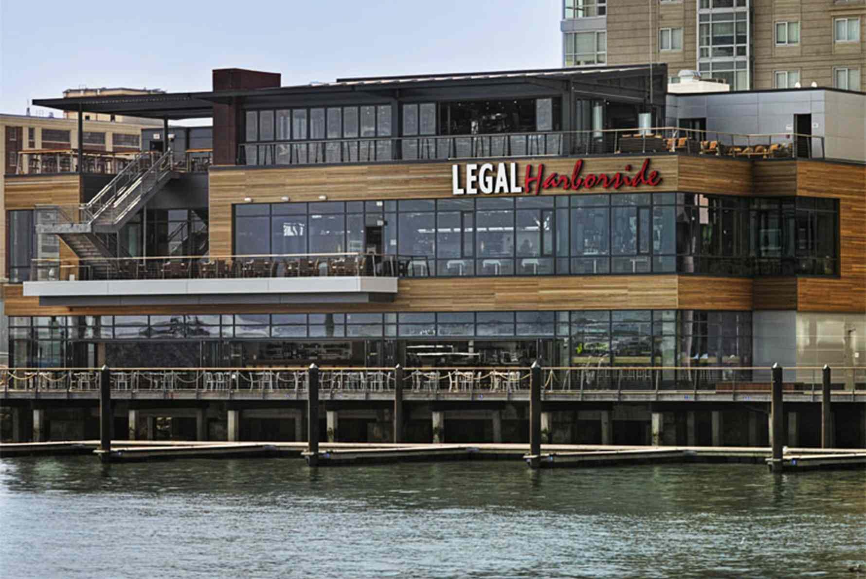 Exterior of Legal Harborside