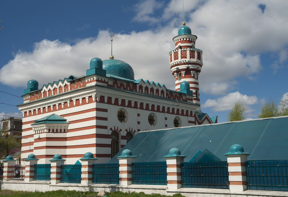 Tver Cathedral Mosque, Tver Russia