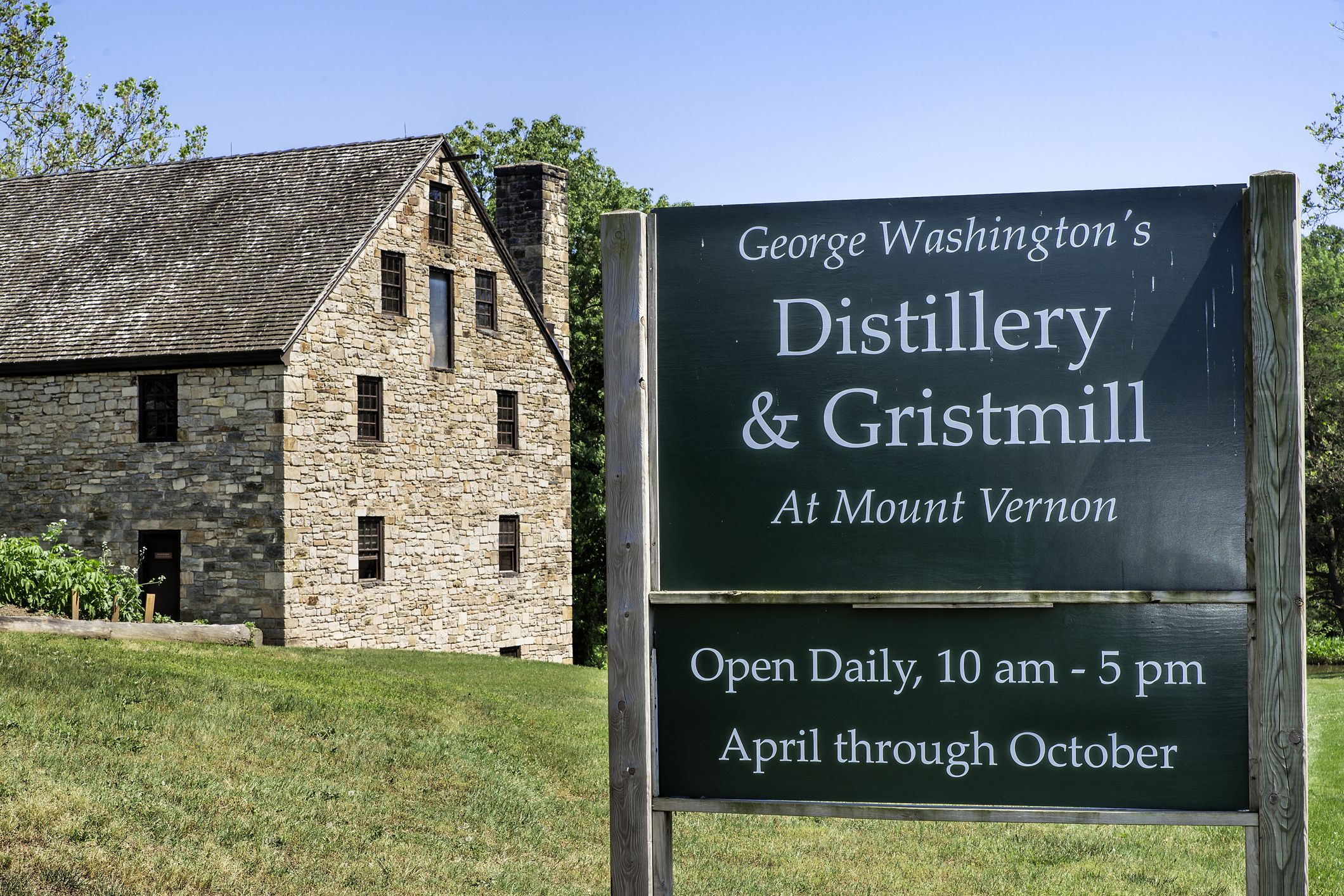 The George Washington Gristmill and Distillery at Mt Vernon
