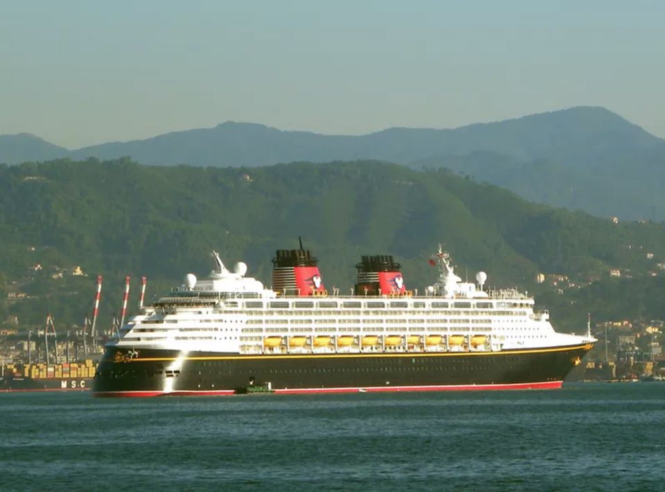 Disney Magic in the Mediterranean at La Spezia, Italy