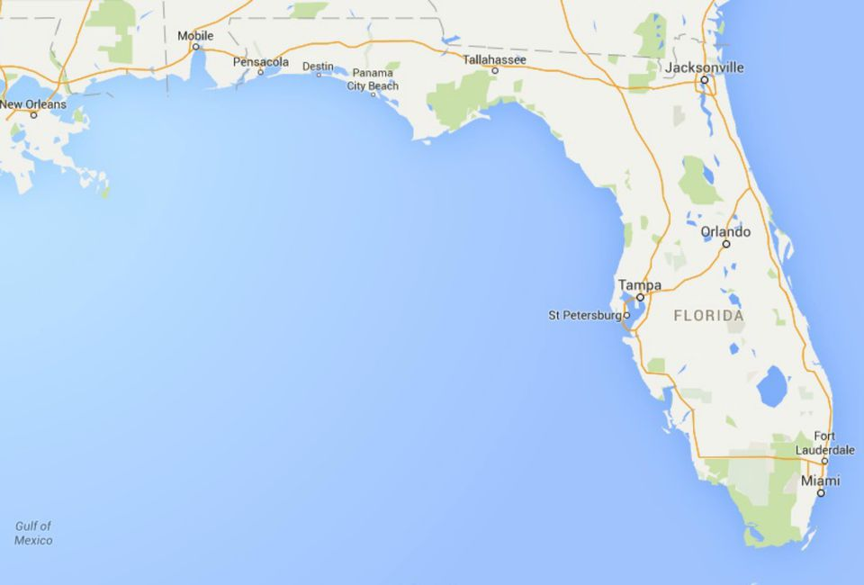 Show Map Of Florida Panhandle.Maps Of Florida Orlando Tampa Miami Keys And More
