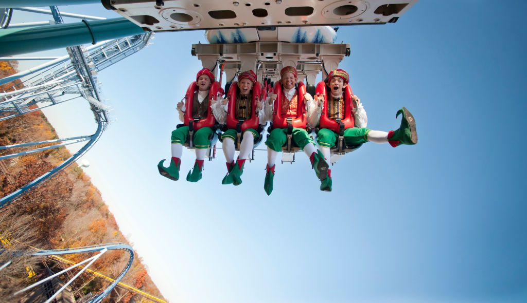 Elves on a rollercoaster