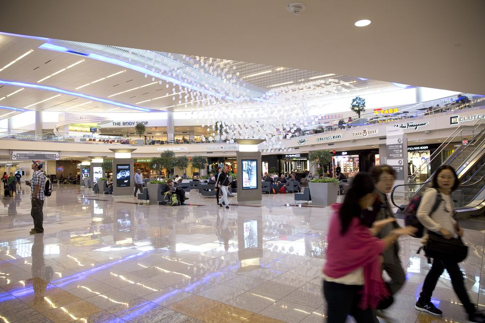 Atrium at the international airport
