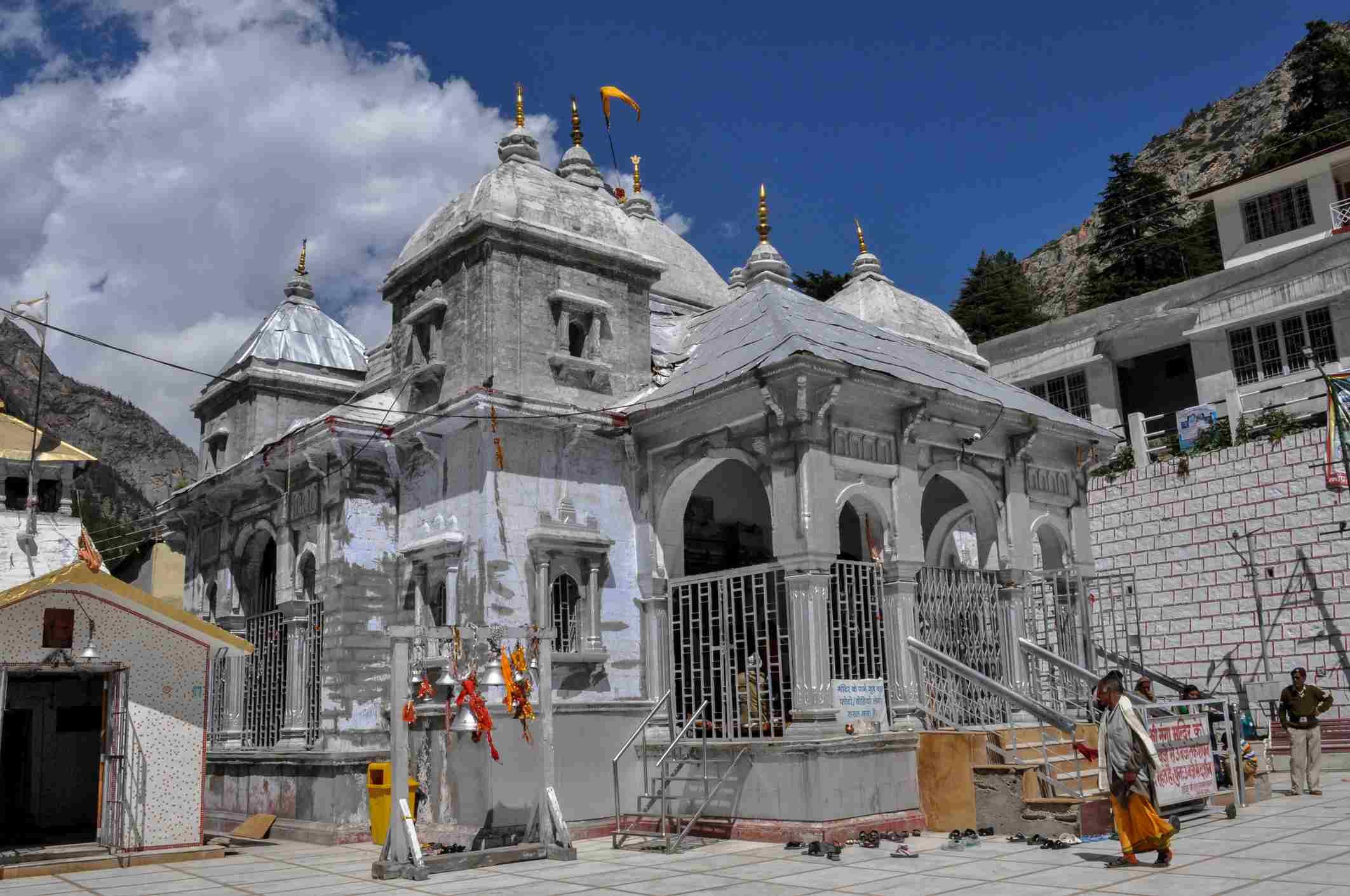 Gangotri temple.