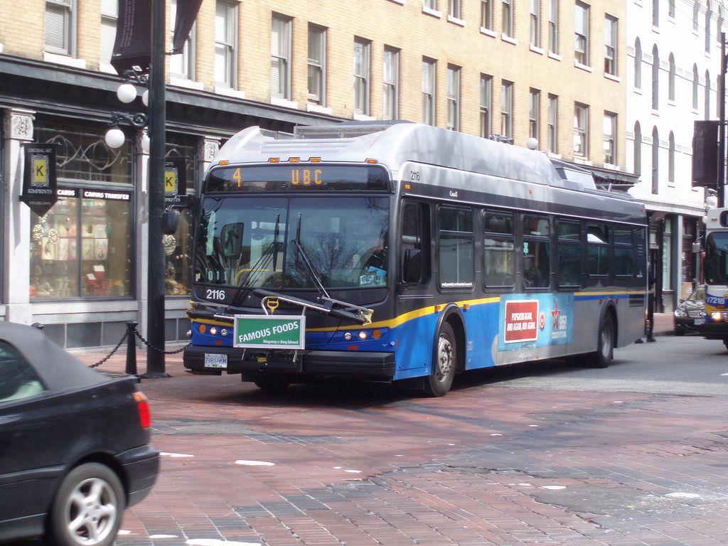 Translink Vancouver Bus Line